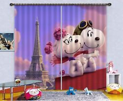 3d Dog Tower 784 Blockout Photo Curtain Print Curtains Drapes Fabric Window Us