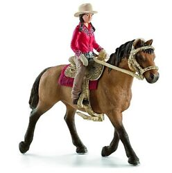 Western Rider Doll Figure With Her Horse Adventure Toy Set For Girls 3 Years