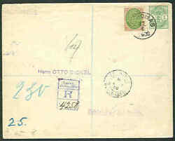 Dwi 1902, 12¢ Bicolor + 1¢ Coat Of Arms On Reg Cover