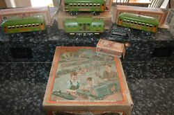 Rare 1930 Era Vintage Lionel Train Set With Boxes And Master Box Must See