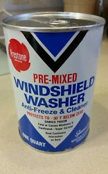 Prestone Windshield Washer Anti Freeze And Cleaner Advertising Can Unopened Full