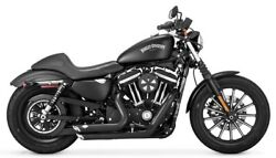 Vance And Hines Short Shots Staggered For Harley Sportster Exhaust Fits 2014-16