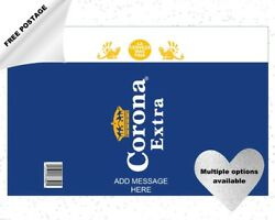 Corona Beer Can/bottle Labels Edible Icing Cake And Cupcake Toppers - Add Message