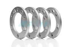 Wheel Spacers 1/2 Thick Fits 6 Lug Chevy And Gmc Trucks 4 Pieces