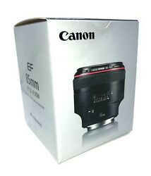 New Canon Ef 85mm F1.2 L Ii Usm Lens - Made In Japan