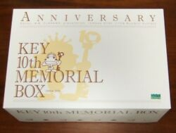New Key 10th Memorial Box Kanon Air Pc Clannad Little Busters Tomoyo After Rare