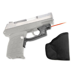 Crimson Trace Keltec PF9 Polymer LaserguardOvermold Front Activation w Holster