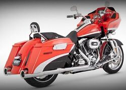 Vance And Hines 4.5 Exhaust Slip-on Mufflers Harley Electra Glide Road King Street