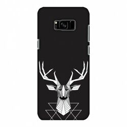 Geometric Deer Hard Protector Case Snap On Slim Phone Cover Accessory