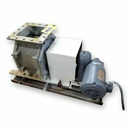 Used 8andquot Barr And Murphy Ltd Stainless Steel Rotary Valve