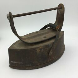 Antique Stove Top Clothing Iron