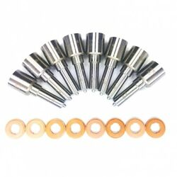 07.5-10 Chevy/gmc 6.6l Diesel Ddp High Flow Injector Nozzle Set Competition.