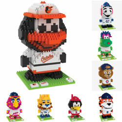 MLB Baseball 3D BRXLZ Mascot Puzzle Construction Block Set Pick Team