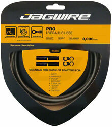Jagwire Mountain Pro Disc Brake Hydraulic Hose 3000mm Carbon Silver