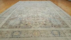 Exquisite C1900-1939s Natural Muted Dye Wool Pile Armenian Rug 5x8ft