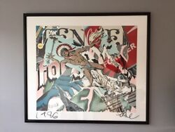 Faile Forever Tender Hand-finished Sceenprint 2008 Framed With Coa