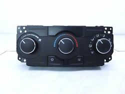 2008 JEEP GRAND CHEROKEE AC HEATER CONTROL SWITCH TEMPERATURE CLIMATE CONTROL