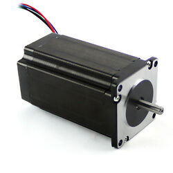 4 Pcs New Nema 23 Stepper Motor 381 Oz-in With Dual Shaft With Low Inductance