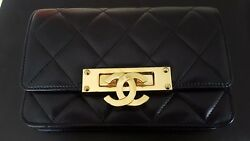 Authentic Chanel Lambskin Quilted