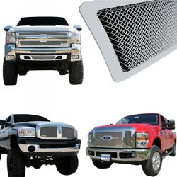 11-15 Chevy Silverado Hd Mesh 1pc Replacemen T-rex Upper Class Stainless Grille.