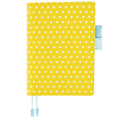 HOBONICHI TECYO 2017 Cover Only Vitamin Dot Yellow A5 Size (fits Cousin)