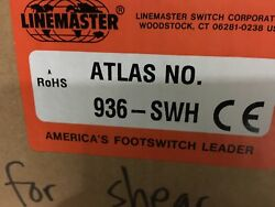Linemaster 936-SWH Altas Single SPDT momentary Aluminum guarded foot pedal