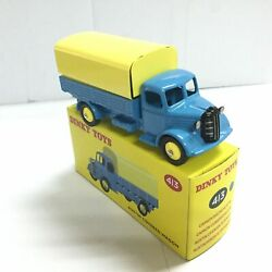 Atlas 1/43 Diecast Dinky Toys 413 Blue Austin Covered Wagon Car Toy Gift