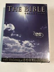 The Bible Collection The Greatest Stories Of All Time 7 Dvd Set Brand New