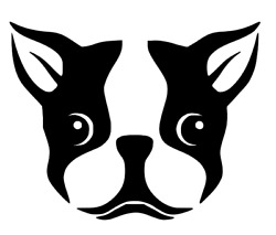 Boston Terrier Vinyl Decal Sticker + HIGH QUALITY + FREE SHIPPING