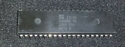 Lot Of 192 - Genuine Zilog Z80a Cpu Ic Z8400a 40pin Pdip Nos In Oem Tubes