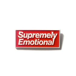 Supremely Emotional Enamel Pin Supreme Depressed Heady Festival Hat And Lapel