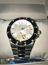 Android Ad636 Flying Tourbillon 27jewel Seagull Ty802 Mechanical + Auto Winding