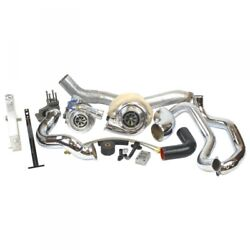 06-07 GM 6.6L DURAMAX LBZ INDUSTRIAL INJECTION TOWING COMPOUND TURBO KIT.