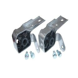 Pypes Hfm60k Pair Of Stainless Steel Exhaust Muffler Hangers For 05-10 Mustang