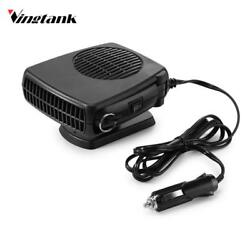 2 In 1 Auto Heater Heating Cooling Demister Defroster Folding Fan Portable Tempe