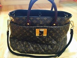NEW LOUIS VUITTON Quilted Monogram Canvas ETOILE EXOTIQUE GM TOTE BAG $7200
