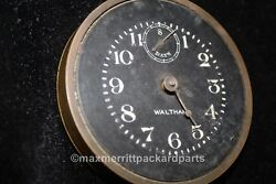 1915 Packard Waltham 8 Day Pocket Watch Dash Clock - Nice Rare