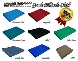 Expeditious Pro Worsted Pool Cloth-fast Speed High Accuracy Pre-cut Bed And Rail