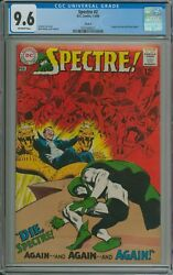 Spectre 2 Cgc 9.6 Offwhite Pages Circle 8 Pedigree - Neal Adams C/a And Interview