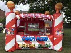 Commercial Inflatable Food Drink Concession Stand Tent Booth 13and039x10and039x10and039 New
