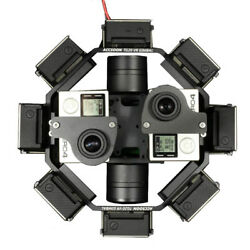Accsoon TG20 360VR Gimbal compatible with Gopro series proper to Flight Shooting