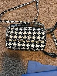 Vera Bradley All In One Crossbody For Iphone 6 Midnight Houndstooth $35.00