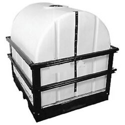 New Storage Tank With Forkliftable Skid - 300 Gallon Capacity