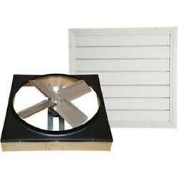 New Cool Attic 30 Direct Drive Whole House Fan With Shutter