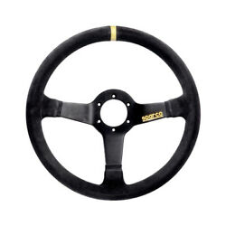 Sparco R325 Suede Steering Wheel - Size Universal