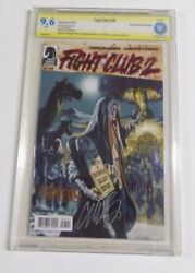 Us - Fight Club 2 Nr.7 Signed Cbcs Graded 9.6