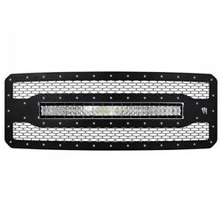 11-16 Ford F250/350 Rigid Industries Rds-series Grille W/ 30 Light Bar.