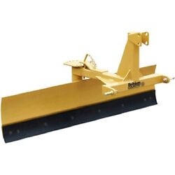 New 6and039 Medium Duty Adjustable Grader Blade Tractor Implement Category 1