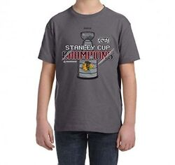 Chicago Blackhawks Wholesale Lot Of 50 Reebok Stanley Cup Champs Youth T-shirt
