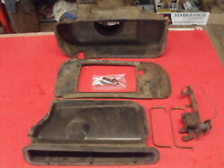 60-66? Chevy Truck Suburban Panel Short Bed Heater Box Tin Work Deluxe Version A